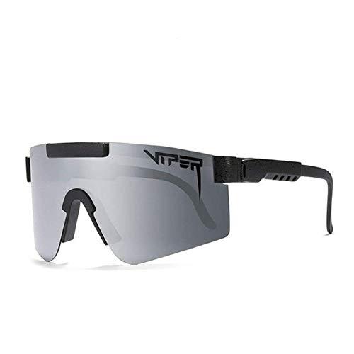 Forward tode Occhiali da Sole da Ciclismo Colorati con Montatura Grande, Occhiali da Sole Sportivi con Lenti polarizzate a Pellicola Colorata