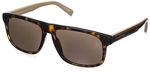 Ermenegildo Zegna Sonnenbrille EZ0003 Gafas de sol, Marrón (Braun), 57.0 para Hombre