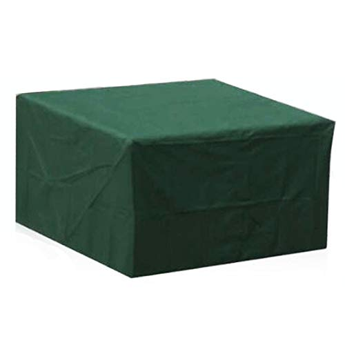 LITINGFC-Garden Furniture Cover,Oxford Fabric Waterproof Outdoor Patio Table Covers Windproof Anti-UV Dustproof With Drawstring,17 Sizes (Color : Green, Size : 180x120x70cm)