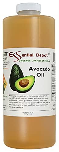 Avocado Oil – 1 Quart – 32 oz –...