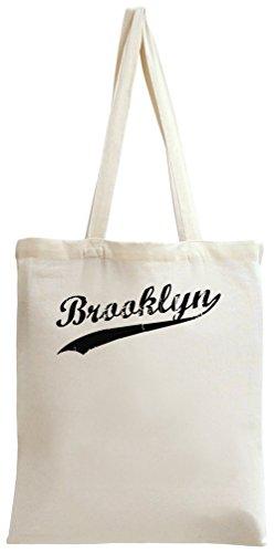Brooklyn NYC New York Baseball Tote Bag