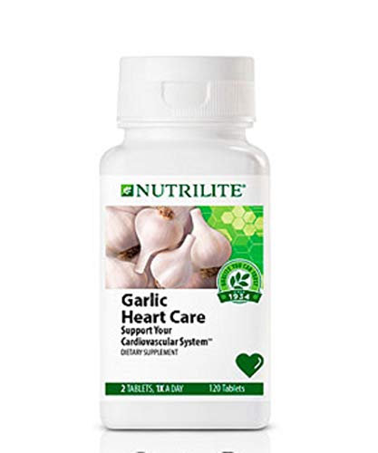Nutrilite Garlic Heart Care Formula - 120 Count 120 Tablets by Nutrilite