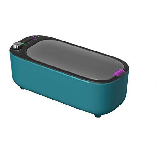Ultraschallreinigungsgerät 45KHz Ultraschallreiniger 400ml Ultraschallgerät,mit Edelstahltank,wasserdichter und staubdichter Reinigungsbrille,Schmuck,Uhren,Kosmetika,Kämme,Zahnspangen,Schnuller