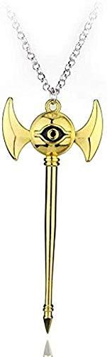 LBBYMX Co.,ltd Halskette Mode Anime Yugioh Millenium Anhänger Schmuck YU Gi Oh ägyptische Pyramide Auge des Horus Halsketten Bijouterie