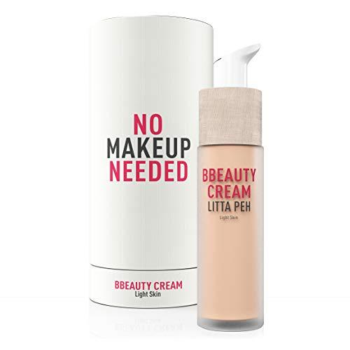 LITTA PEH - BB Cream - BBEAUTY CREAM - Crema facial Hidratante con Color - Tratamiento Anti-Imperfecciones apto para Pieles Grasas, Mixtas y Secas - 50ml
