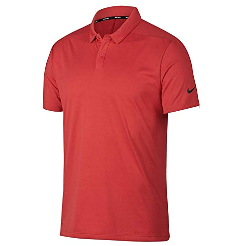 Buy Nike Breathe Texture OLC Golf Polo 2018 Tropical Pink/Black Small