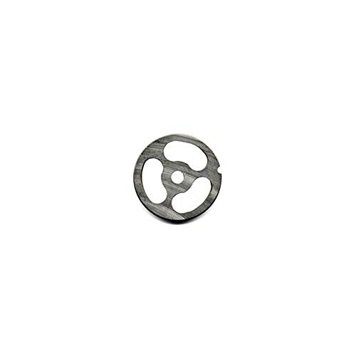 ALFA International 32 Kidney Kidney Plate with 3 Holes for #32 Meat Grinders