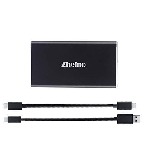 Zheino P1 Externe SSD-Festplatte, 500 GB, USB 3.1, Typ C, OTG