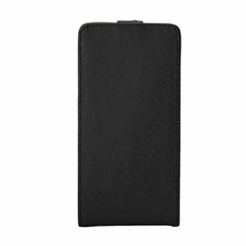 LBMXQ Caja del teléfono móvil de Samsung Accesorios de telefonía móvil for Galaxy A5 (2016) / A510 Caso Vertical del Cuero del tirón Bolsa de Cintura con la Hebilla magnética (Negro)