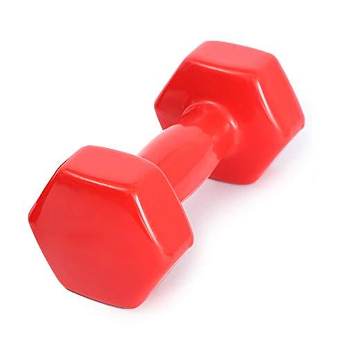 Hui Jin - Mancuernas pequeñas para entrenamiento ambiental y muscular, ideal para culturismo, levantamiento de pesas, entrenamiento profesional para mujeres, 4 kg, 1 unidad