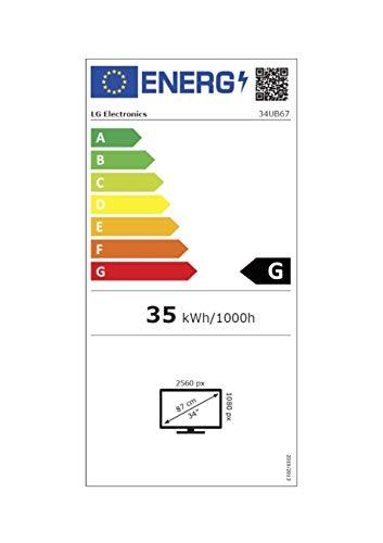 LG 34UB67-B LED-Monitor, 86.4 cm (34 Zoll)