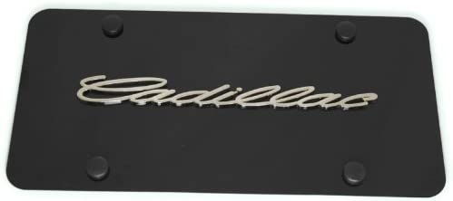 Au-Tomotive Gold Department store INC. Cadillac Front License Chrome Super popular specialty store Frame Plate
