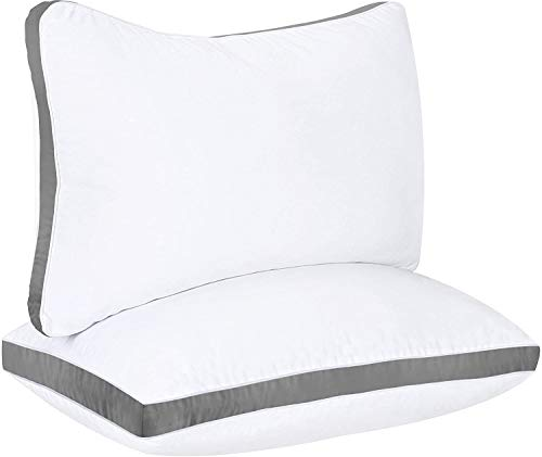 Utopia Bedding Gusseted Pillow (2-Pack) Premium...