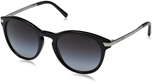 Michael Kors Damen Adrianna Iii 316311 53 Sonnenbrille, Schwarz (Black/Light Grey Gradient)