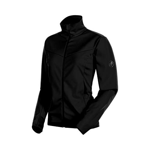 Mammut Damen Ultimate V Softshell-Jacke Mit Kapuze, Black, M