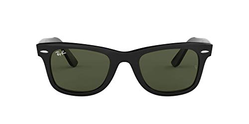 Wayfarer Icons, Negro (Black / Crystal Grey Gradiant), 54