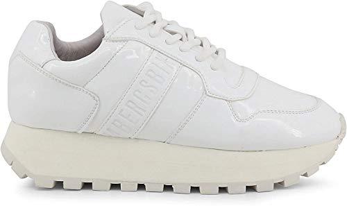 Bikkembergs Sneaker Fend-ER_2087-PATENT Mujer Color: Blanco Talla: 39