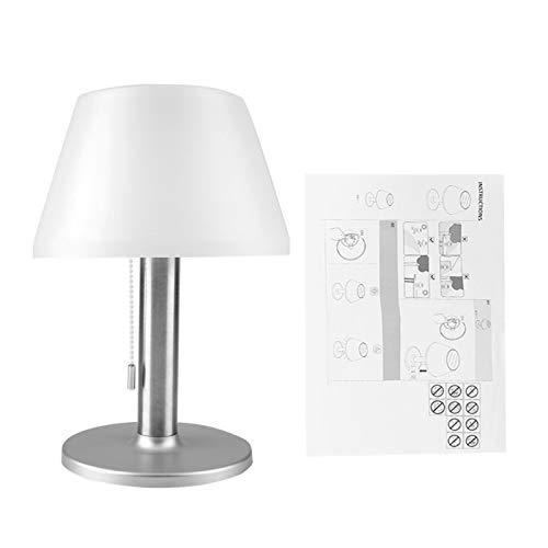 Lámpara de Escritorio, Prenda Impermeable de la lámpara de Mesa del Escritorio de la luz de la energía Solar del LED para el Patio al Aire Libre