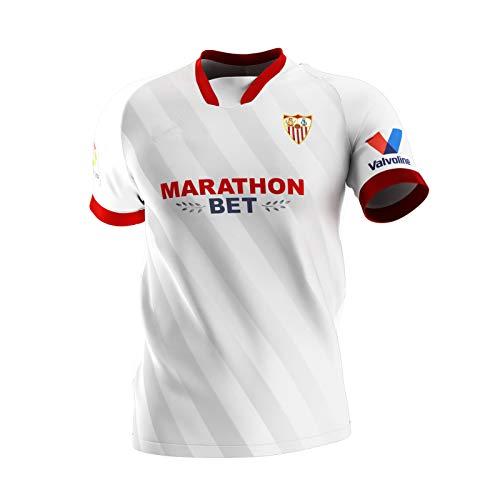Zena KN Camiseta de fútbol Personalizado Camisetas Futbol Personalizada Nombre Número Camisa para Hombres Jóvenes niños UCL Badge (1ª equipación, 6-7Año Agregar)