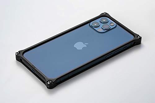 GILD design GI-428B 43171 Solid Bumper iPhone 12 iPhone 12Pro Case, Duralumin Shaving, Made in Japan