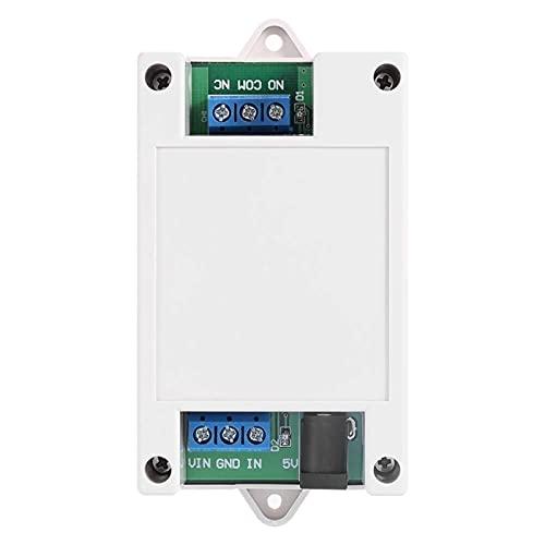 Auoeer Mobile Remote, Interruptor de Control Remoto de Relé Bluetooth de 5V-24V 1 Canal Compatible con el Tester de Condensador de teléfono de Android Remoto Bluetooth
