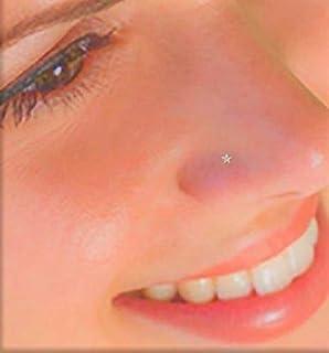 .。.: * ☆ GOLDEN MINI STAR ☆ * .: 。. minuscolo piercing naso, naso, piercing naso, stella, acciaio inossidabile