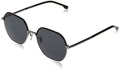 Hugo Boss Boss 1107/F/S Gafas de sol, rutenio opaco, 56 para Hombre