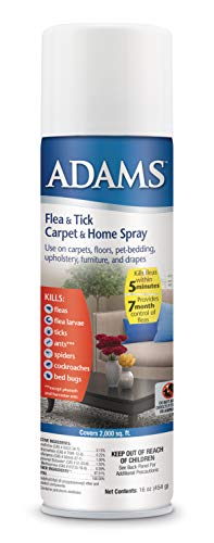 Adams Flea and Tick Carpet & Home Spray 16 Ounces