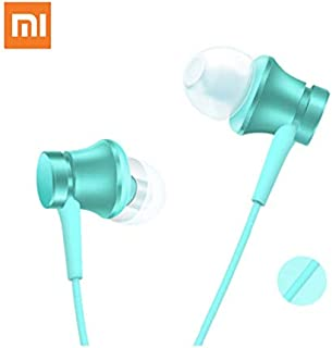 RONSHIN for Xiaomi Mi Piston Wired Earphone with Mic Blue