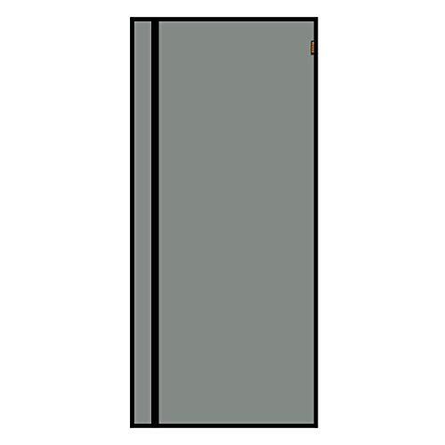 MAGZO Reversible Left Right Side Opening Magnetic Screen Door 32'' x 80'' Black, Removable Fiberglass Screen Doors with Magnets Heavy Duty Fits Door Size 32'' x 80'' Screen Door Screen with Full Frame