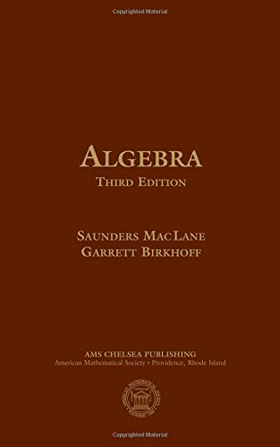 Lane, S: Algebra (Ams Chelsea Publishing)