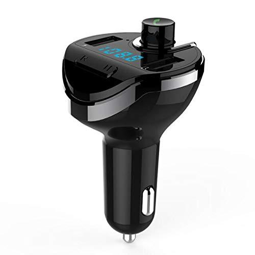 Reproductor de MP3 para coche, reproductor de música en U Disco, Bluetooth, manos libres, encendedor de cigarrillos, cargador de coche USB