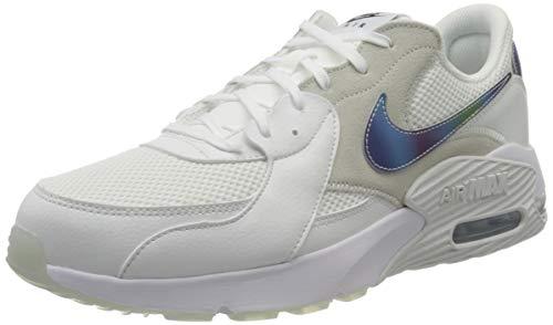 Nike Herren Air Max Excee Sneaker, Summit White/White-Platinum Tint-Black, 45 EU