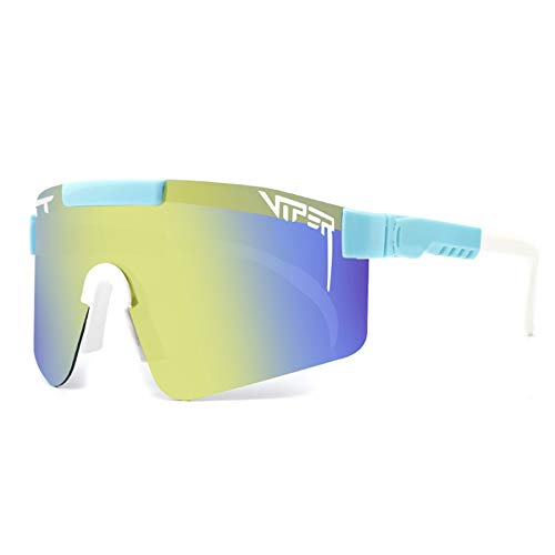 LDFANG Protección UV Gafas de Sol Deportivas polarizadas Protección UV Gafas de Ciclismo