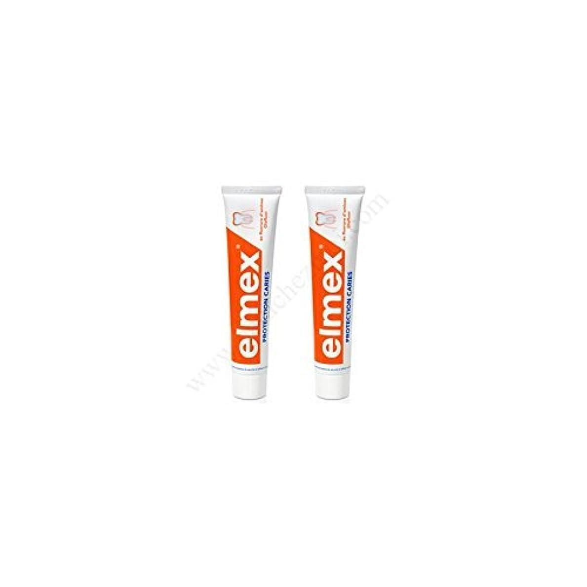 サミットホップ神社Elmex Decays Prevention Toothpaste 2x75ml by Elmex [並行輸入品]