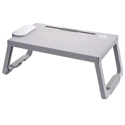 Multi-Function Bed Bureau Draagbare Laptop Tafel Inklapbare Permanent Bureau Met Pen Insteekgat En Kop Slot - Voor Sofa, Bank,B