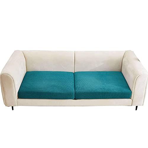 Funda de cojín de sofá súper elástica, Protector de Muebles Antideslizante elástico para Silla Loveseat Sofá Sofá Funda de Asiento de sofá de Tela Jacquard Lavable para Sala de Estar-S (60-80cm) -G