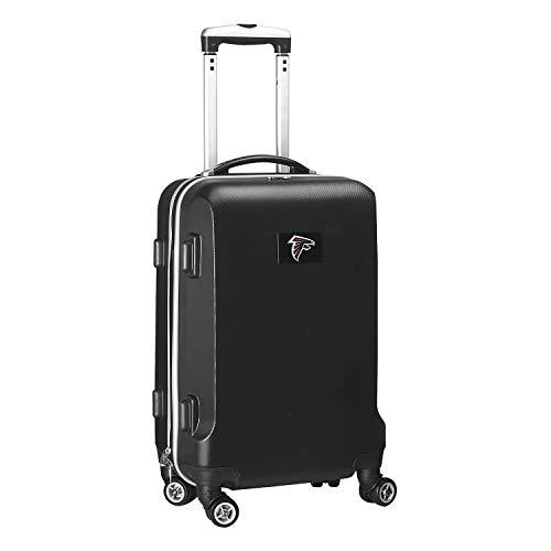 Denco NFL Atlanta Falcons Carry-On Hardcase Luggage Spinner, Black