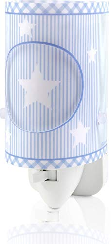 Dalber Sweet Dreams Luz Nocturna Infantil Enchufe led, Azul