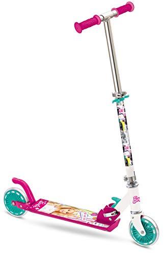 Mondo - 18081 - Vélo et Véhicule pour Enfants - Patinette Barbie 2 Roues