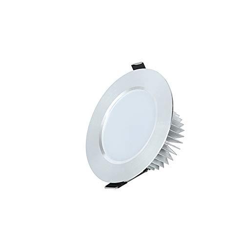 Mogicry 18W moderne eingebettete geführte Instrumententafel-Leuchte Aluminiumrunde eingelassene geführte Haushalts-Schlafzimmer-Wohnzimmer-Studie führte Deckenverkleidung-Licht (3200k/6000k 150-170MM)