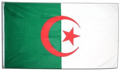 Flaggenfritze Fahne/Flagge Algerien + gratis Sticker
