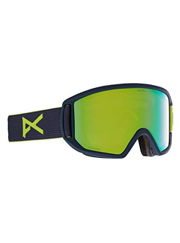 Anon Herren Relapse MFI Snowboard Brille, Blue Split/Perceive Variable Green