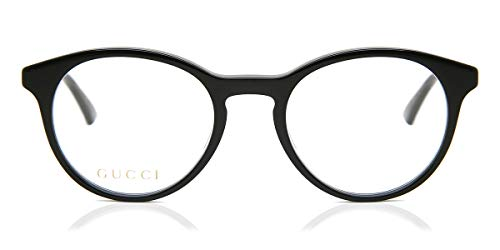 Gucci Brille (GG-0406-O 001) Acetate Kunststoff schwarz