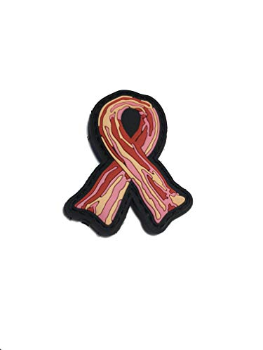 Empire Tactical USA The Bacon Awareness Ribbon 3D PVC Morale Patch