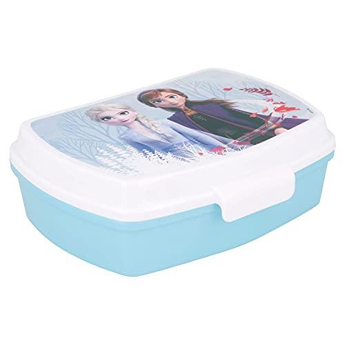 | Frozen 2 | Sandwichera Para Niños Decorada - Fiambrera Infantil | Caja Para El Almuerzo Y Porta...