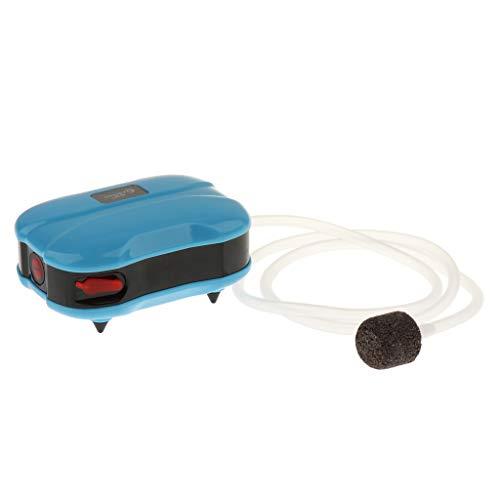 SM SunniMix Aquarium Luftpumpe Ultra-Leise Sauerstoffpumpe für alle Aquarien - Einzelner Ausgang