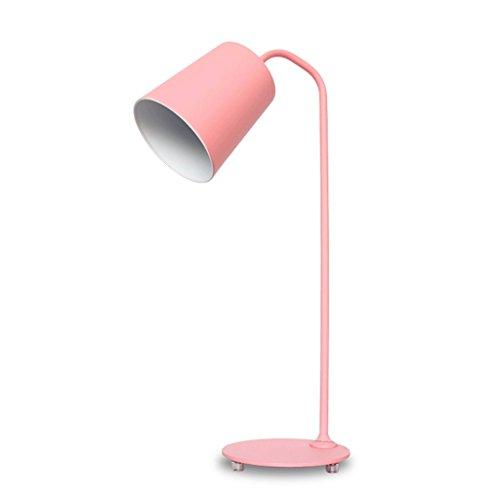 Nordic moderno minimalista escritorio de oficina trabajo ojo lámpara creativa niña rosa tifón