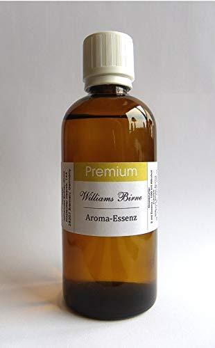 PREMIUM Williams Birne Aroma Essenz 100 ml konzentriert-für SPIRITUOSEN und Lebensmittel, Made in Germany!