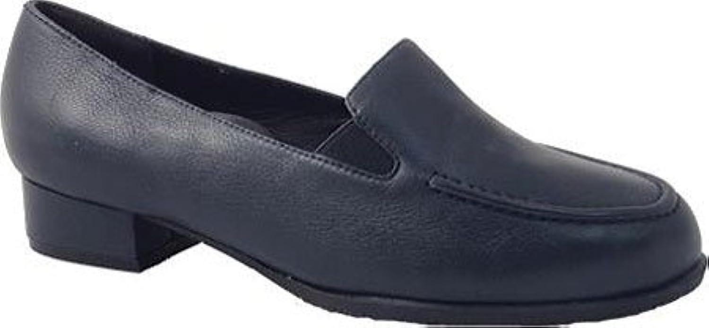 Drew Women's Arlene Navy Calf Size 8.5 2A